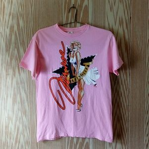 Marilyn Monroe Hollywood Pinup Girl Graphic Tee M